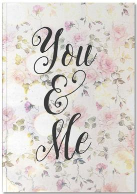 You and Me Carnet de note