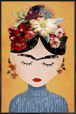 Frida affiche encadrée