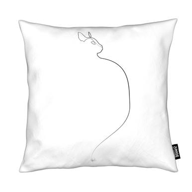 One Line Cat 0207 Cushion