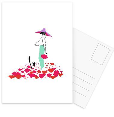 Poppy Fields Postcard Set