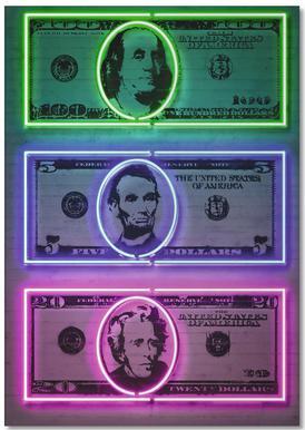 Dollars Notizblock