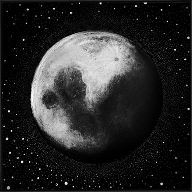 Mond Framed Poster