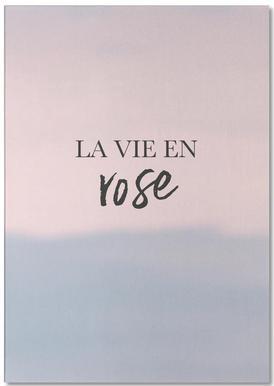 La Vie En Rose Notepad