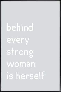 Herself Framed Poster
