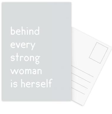 Herself cartes postales