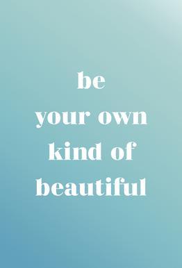 Your Own Kind tableau en verre
