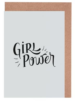 Girl Power cartes de vœux