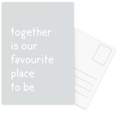 Together Postcard Set