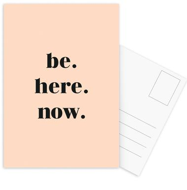 Be Here Now Postcard Set