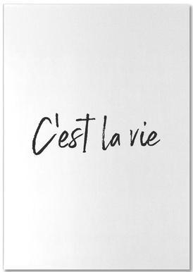 C'est La Vie bloc-notes