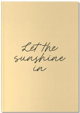 Let The Sunshine In Carnet de note