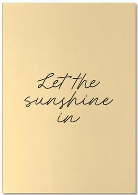 Let The Sunshine In Notepad