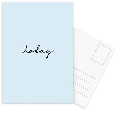 Today cartes postales