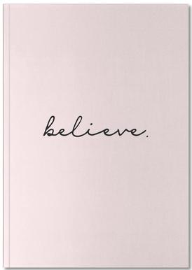 Believe Notizbuch