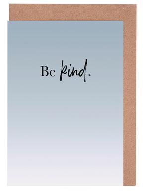 Be Kind cartes de vœux