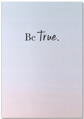 Be True bloc-notes