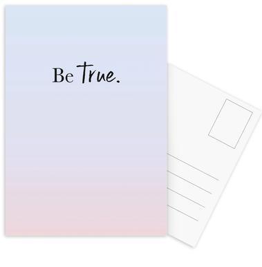 Be True cartes postales