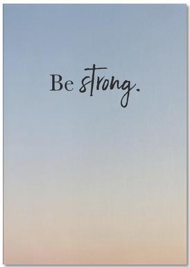 Be Strong notitieblok