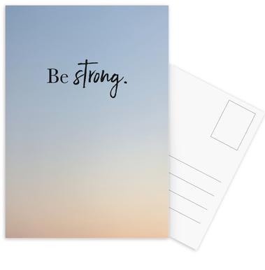 Be Strong cartes postales