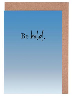 Be Bold cartes de vœux