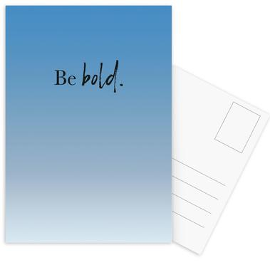 Be Bold cartes postales