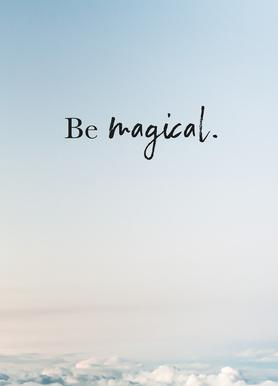 Be Magical toile