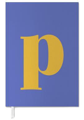 Blue Letter P agenda