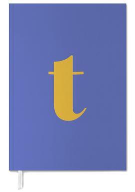 Blue Letter T agenda