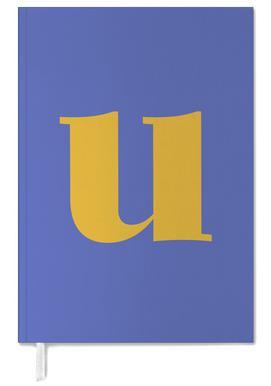 Blue Letter U agenda