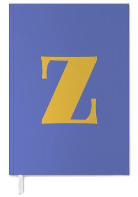 Blue Letter Z agenda