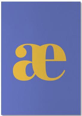 Blue Letter æ Bloc-notes