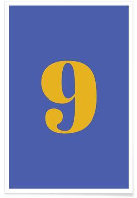 Blue Number 9 affiche