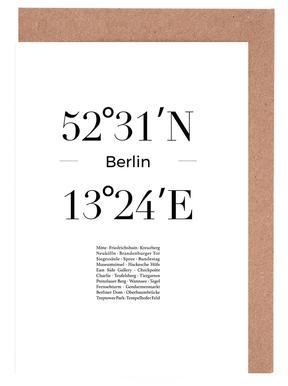 Berlin -Grußkarten-Set