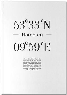 Hamburg Notizbuch