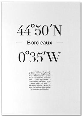 Bordeaux bloc-notes