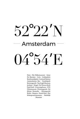 Amsterdam acrylglas print