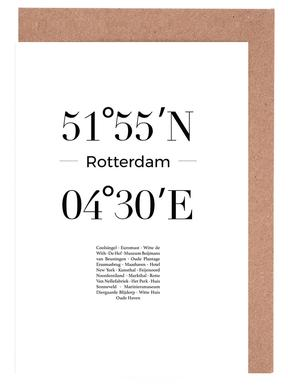 Rotterdam wenskaartenset
