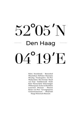 Den Haag toile