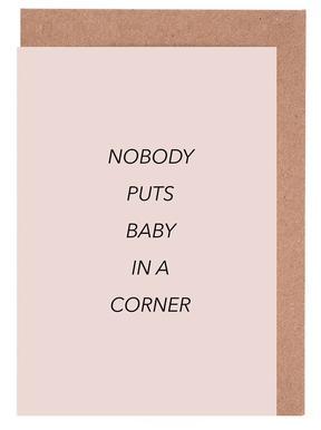 Nobody Puts Baby in a Corner wenskaartenset