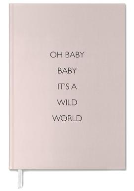 Oh Baby Baby It's a Wild World Personal Planner
