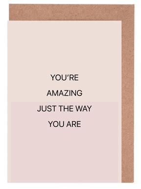 You're Amazing 01 Wenskaartenset