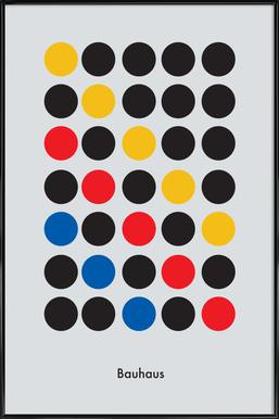 Primary Pattern Framed Poster