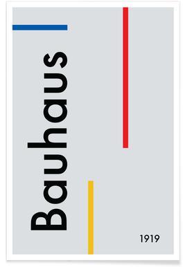 Bauhaus 1919 affiche