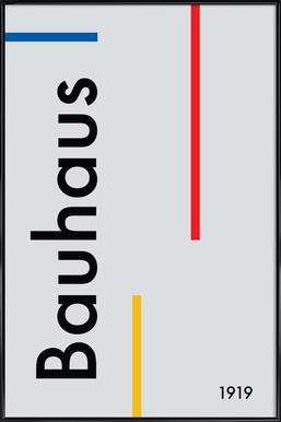 Bauhaus 1919 Poster in Standard Frame