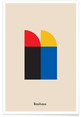 Bauhaus Archive Berlin -Poster
