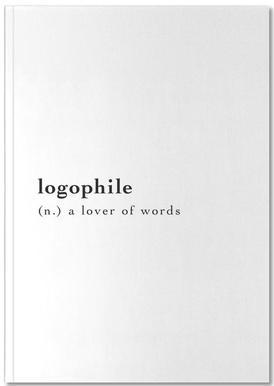 Logophile Notizbuch