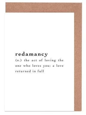 Love quotes greeting cards juniqe redamancy juniqe greeting card set m4hsunfo