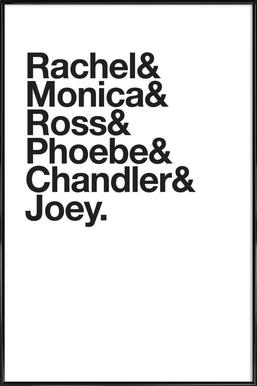 Just Friends Affiche sous cadre standard