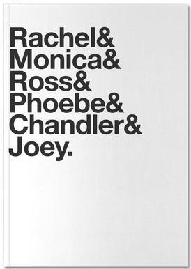 Just Friends Notitieboekje