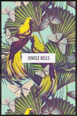 Jungle Bells! affiche encadrée